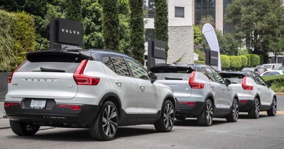 Auto eléctrico Volvo
